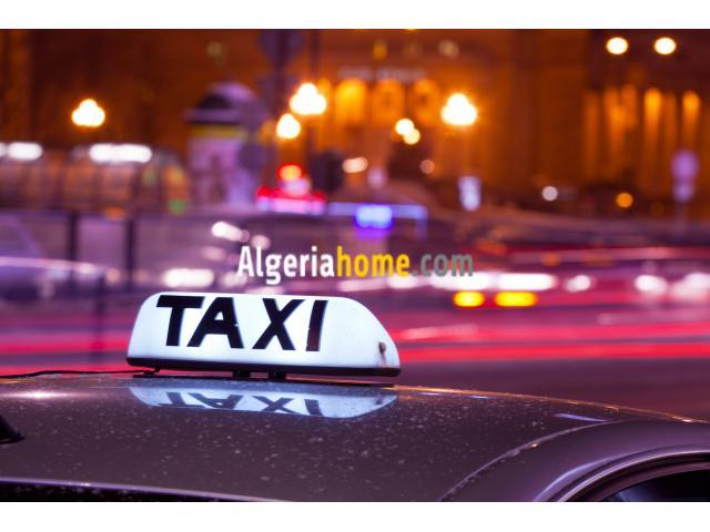 chauffeur taxi Alger