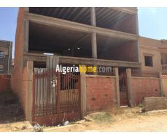 a vendre une carcasse de villa a Canastel - Oran