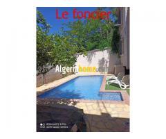 location villa avec piscine oran