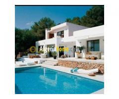 vente villa avec piscine alger El biar