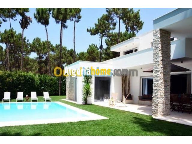 location villa avec piscine alger hydra