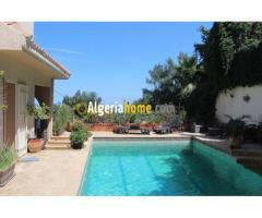 vente villa avec piscine alger