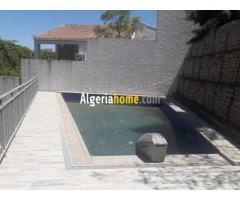 Location Niveau De Villa avec piscine Alger
