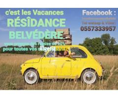 Vacances appartements F2 F3 DUPLEX Béjaïa