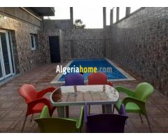 Location villa avec piscine prive Boumerdes