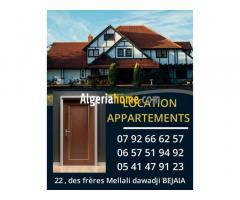Location Appartement Bejaia avance 6 mois