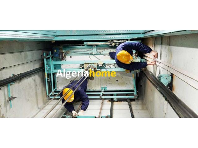 Installation et entretien et rénovation monte charge ascenseurs
