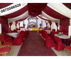 location décorations et toutes les fournitures de mariage