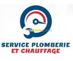 Service plomberie et chauffage alger
