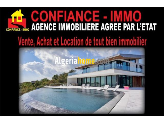 tout type de bien immobilier pour Vente, Achat et Location alger
