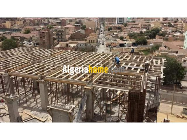construction bâtiments Bouira